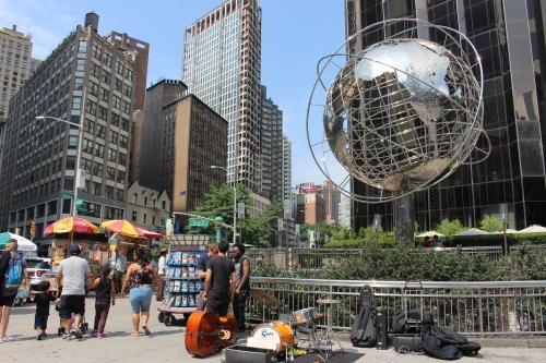 Musicians at Columbus Circle